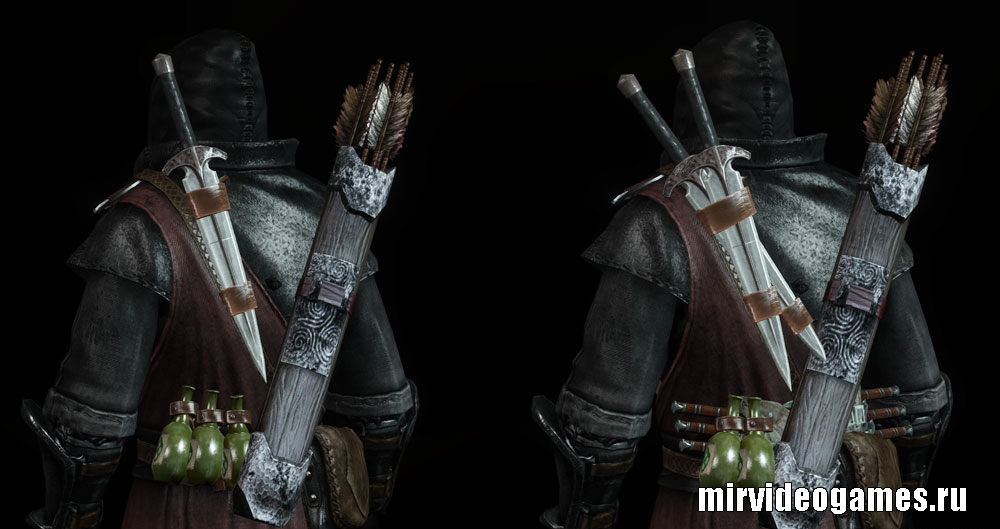 The Dark Brotherhood Armor TS Edition для для Skyrim