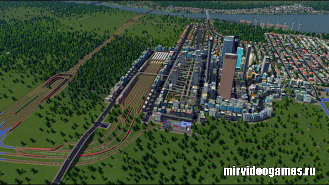 Сохраненный Лейк Вэлли для Cities: Skylines