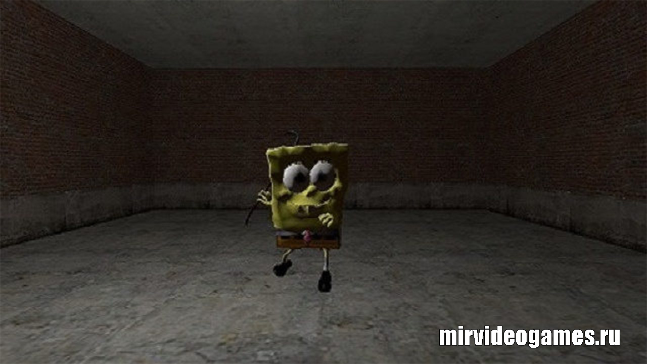 Модель игрока Spongebob playermodel для Garry's Mod