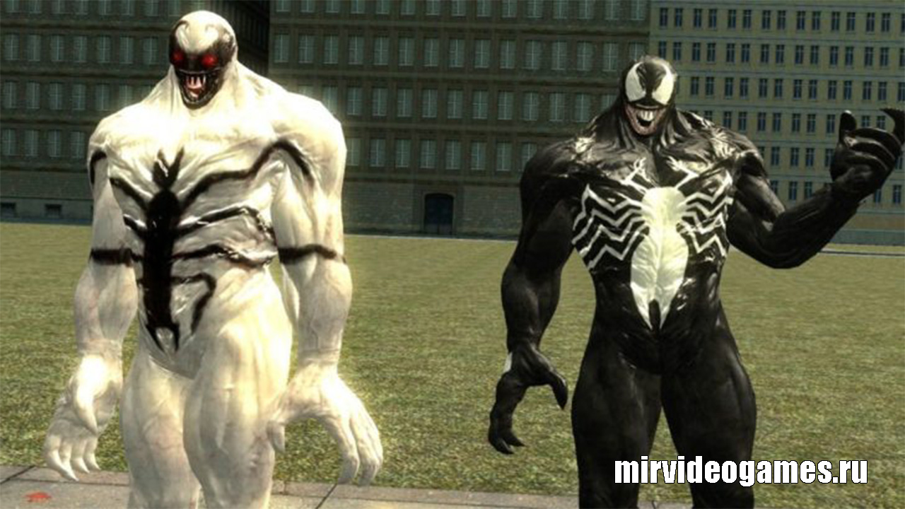 Моделька Comics Venom Pack для Garry's Mod