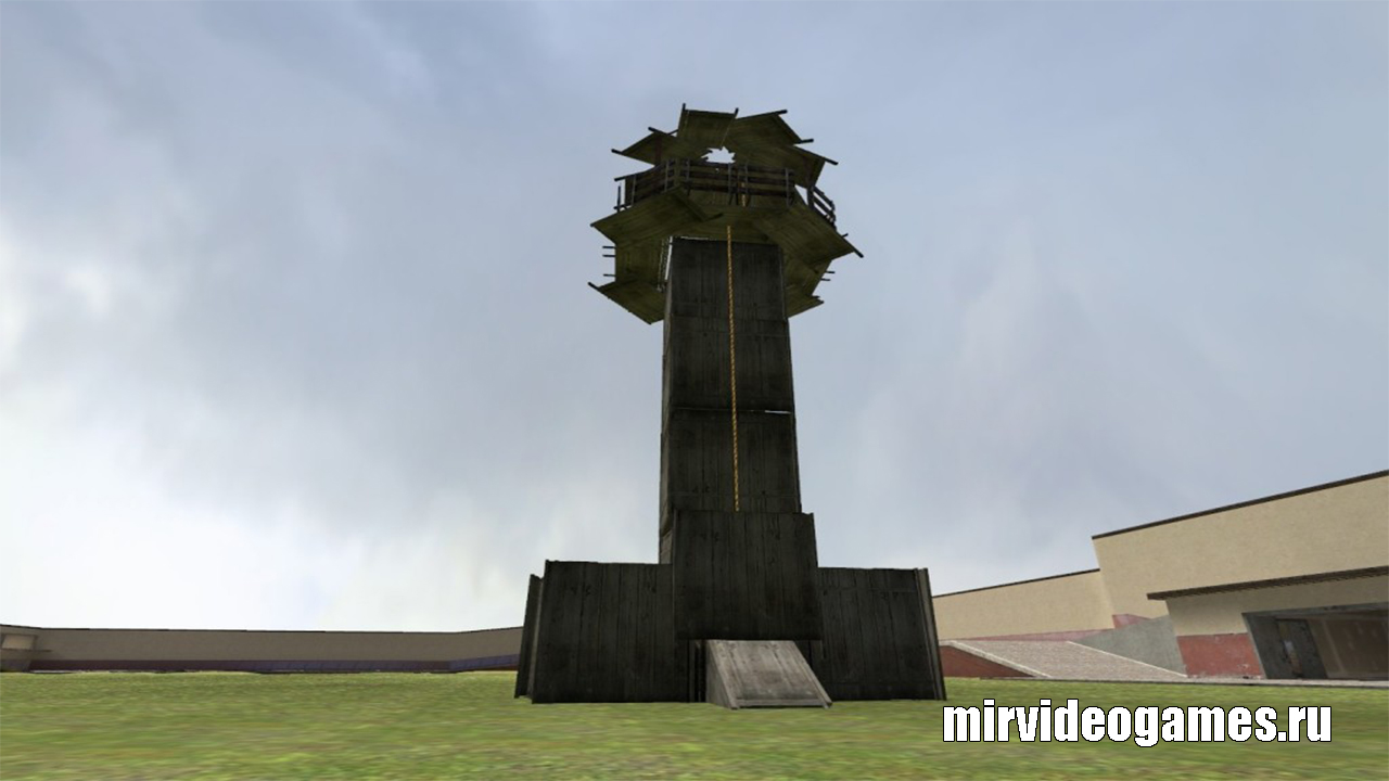 Мод Сourtyard_tower для Garry's Mod