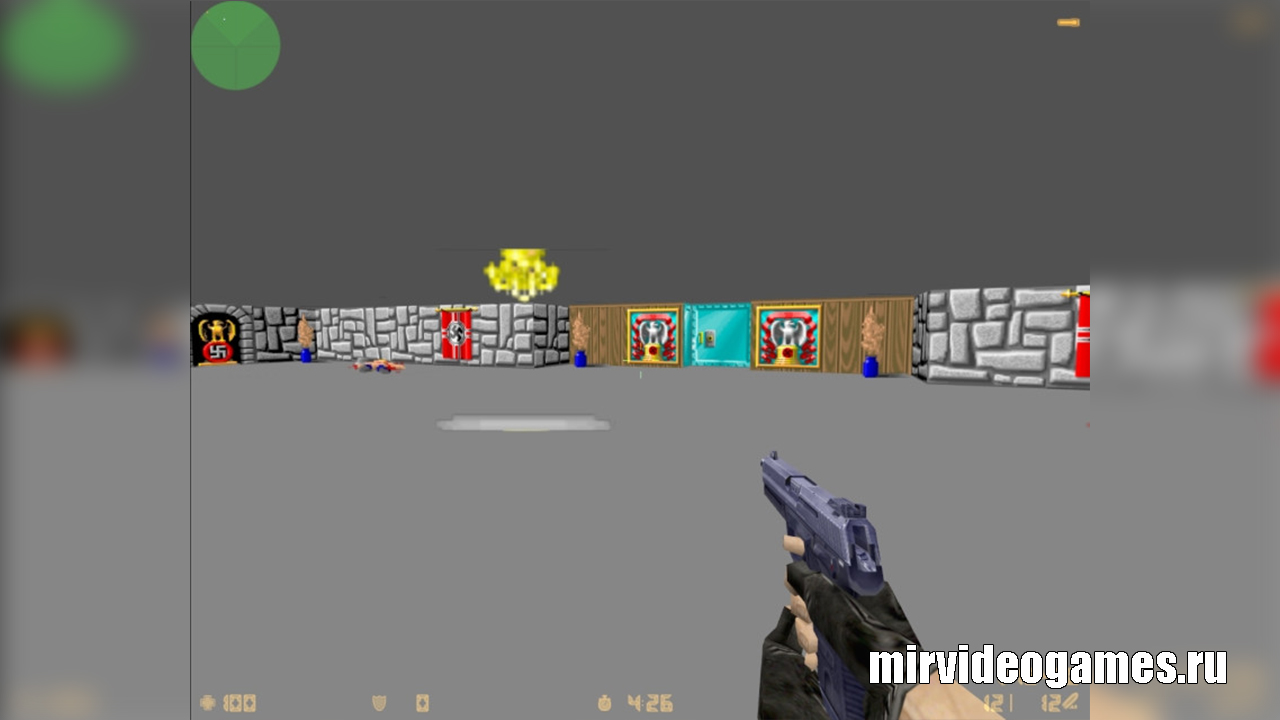 Карта as_wolf3d для CS 1.6