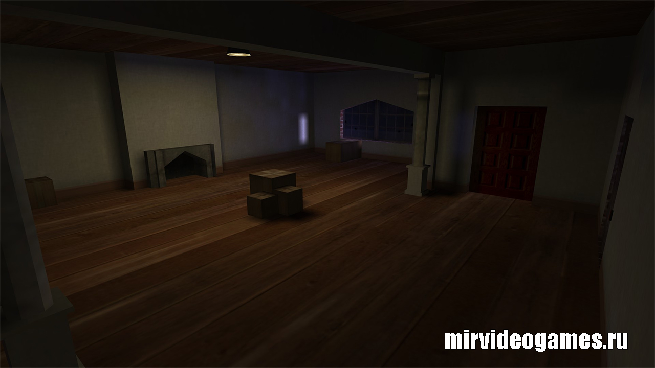 Карта panic_room для CS 1.6