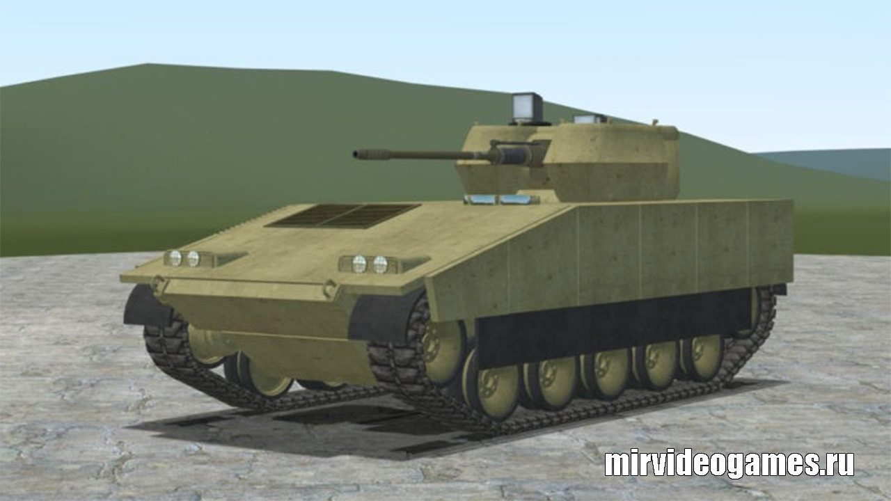 Мод IFV-1 — ACF troop carrier для Garry's Mod