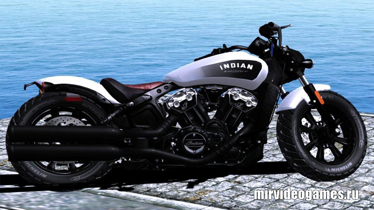 Indian Scout Bobber 2018 для Grand Theft Auto: San Andreas