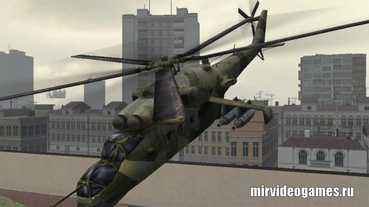 Мод Flyable Helicopters V2 для Garry's Mod