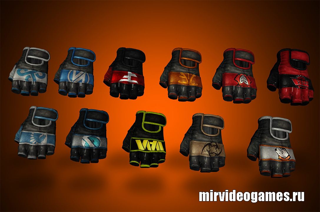 Модель руки Pro Team Gloves для СS:GO