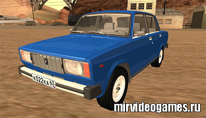 Машина Lada 2105 для Grand Theft Auto: San Andreas
