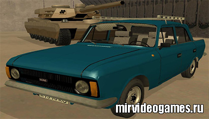 Машина Moskvich 412 для Grand Theft Auto: San Andreas