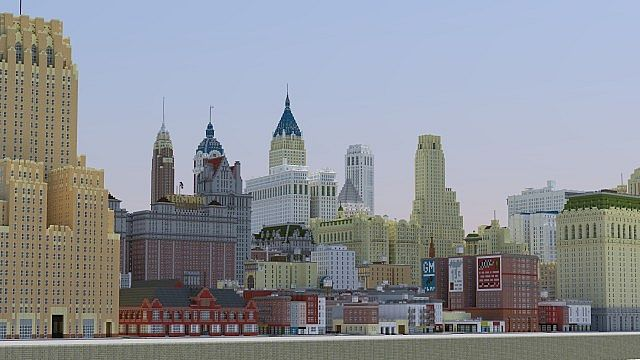 new york minecraft map 1.14