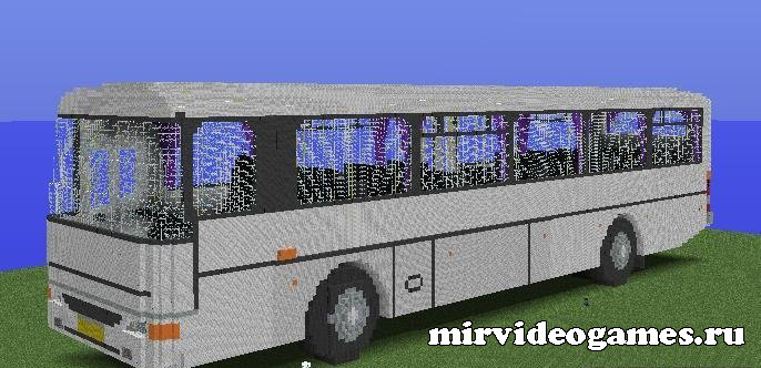 Karosa c954e biggest mc bus minecraft - Belle construction minecraft tuto ...